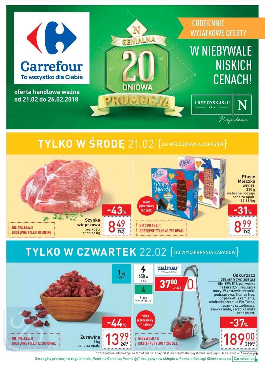 Gazetka promocyjna Carrefour do 26/02/2018 str.0
