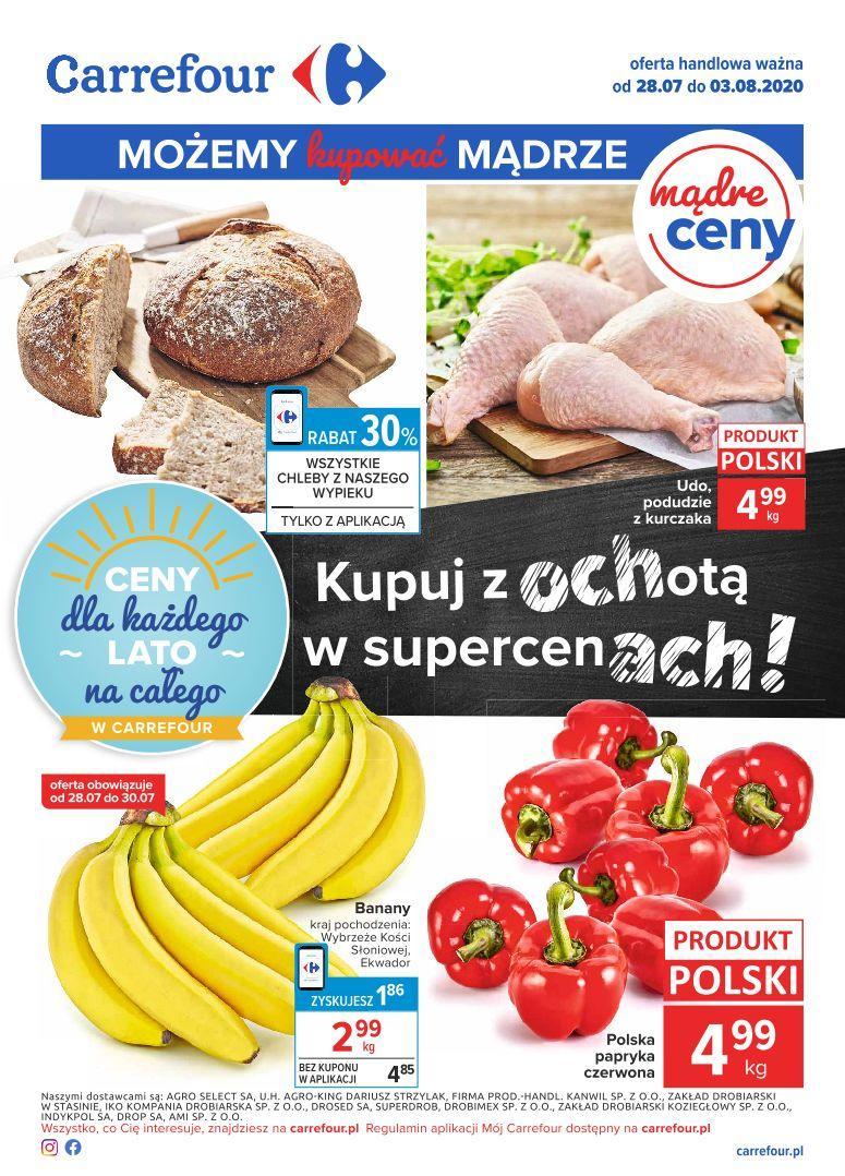 Gazetka promocyjna Carrefour do 03/08/2020 str.0