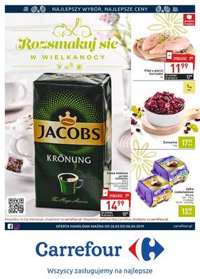 Carrefour gazetka - od 26/03/2019 do 06/04/2019