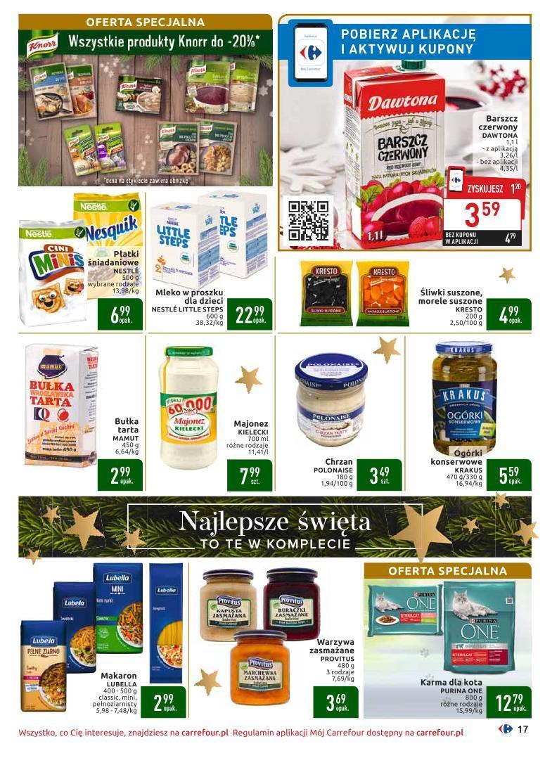Gazetka promocyjna Carrefour do 16/12/2019 str.17