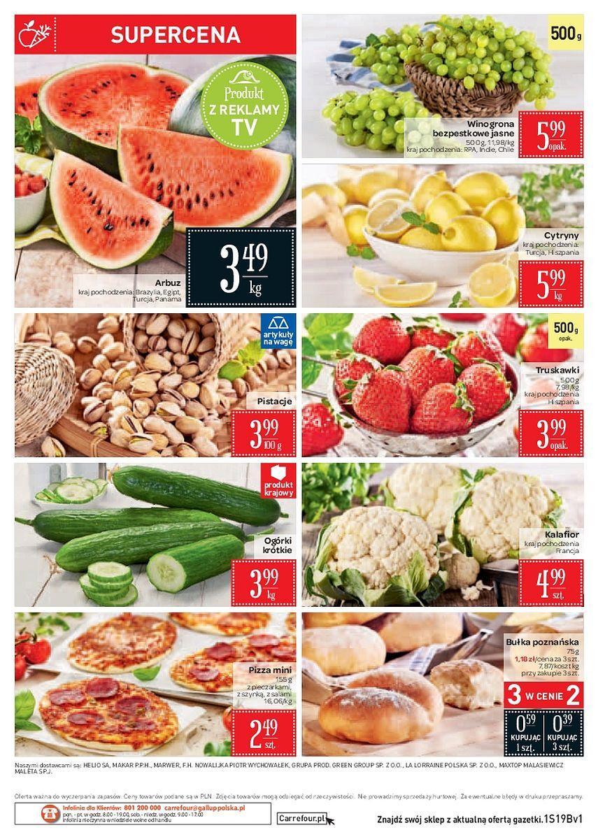Gazetka promocyjna Carrefour Market do 14/05/2018 str.1
