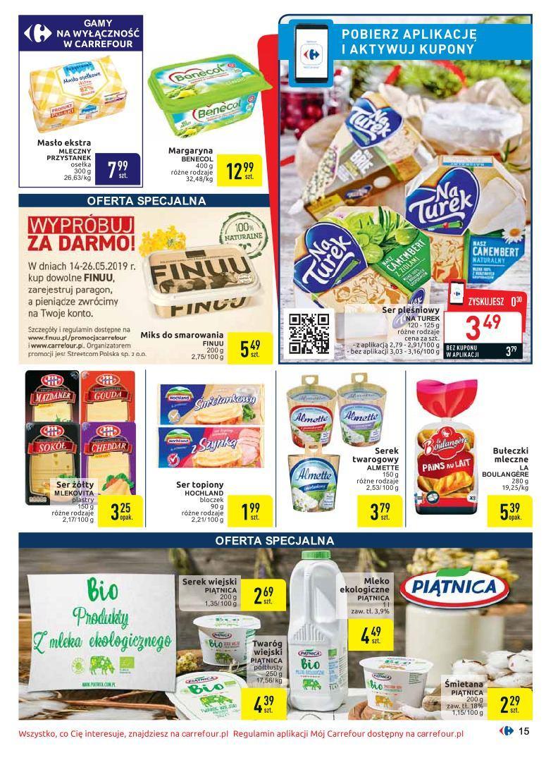 Gazetka promocyjna Carrefour do 26/05/2019 str.14