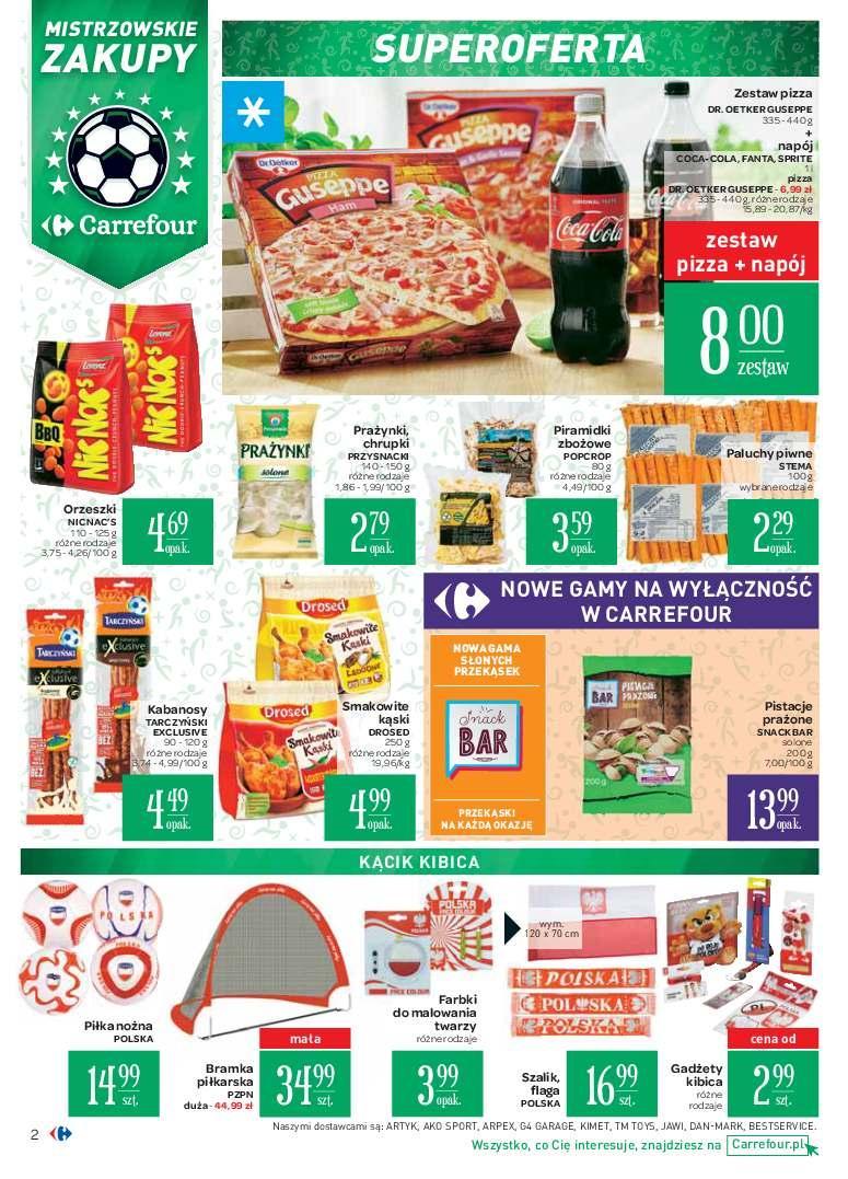 Gazetka promocyjna Carrefour do 24/06/2018 str.1