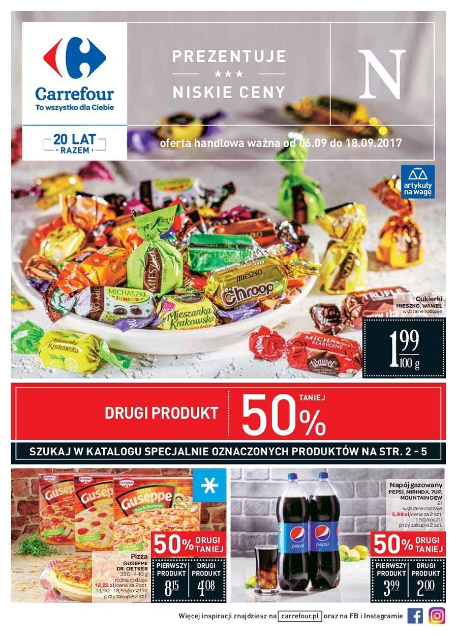 Gazetka promocyjna Carrefour do 18/09/2017 str.0