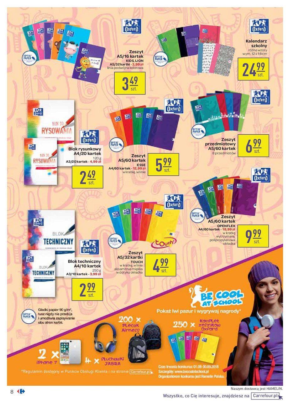 Gazetka promocyjna Carrefour do 04/09/2018 str.8