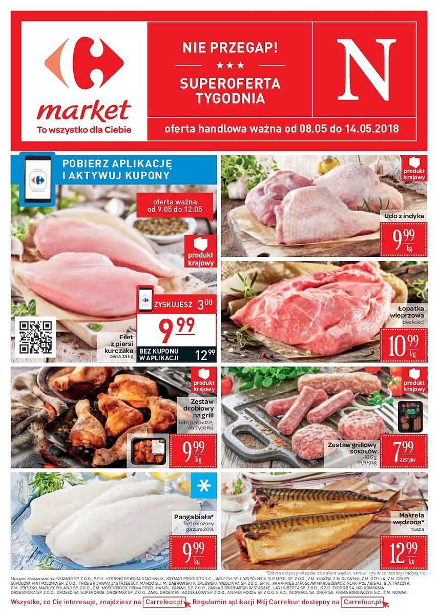 Gazetka promocyjna Carrefour Market do 14/05/2018 str.0