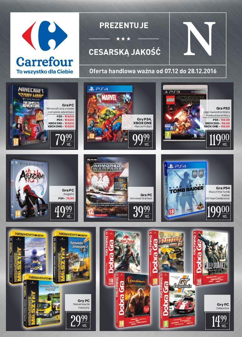 Gazetka promocyjna Carrefour do 28/12/2016 str.0