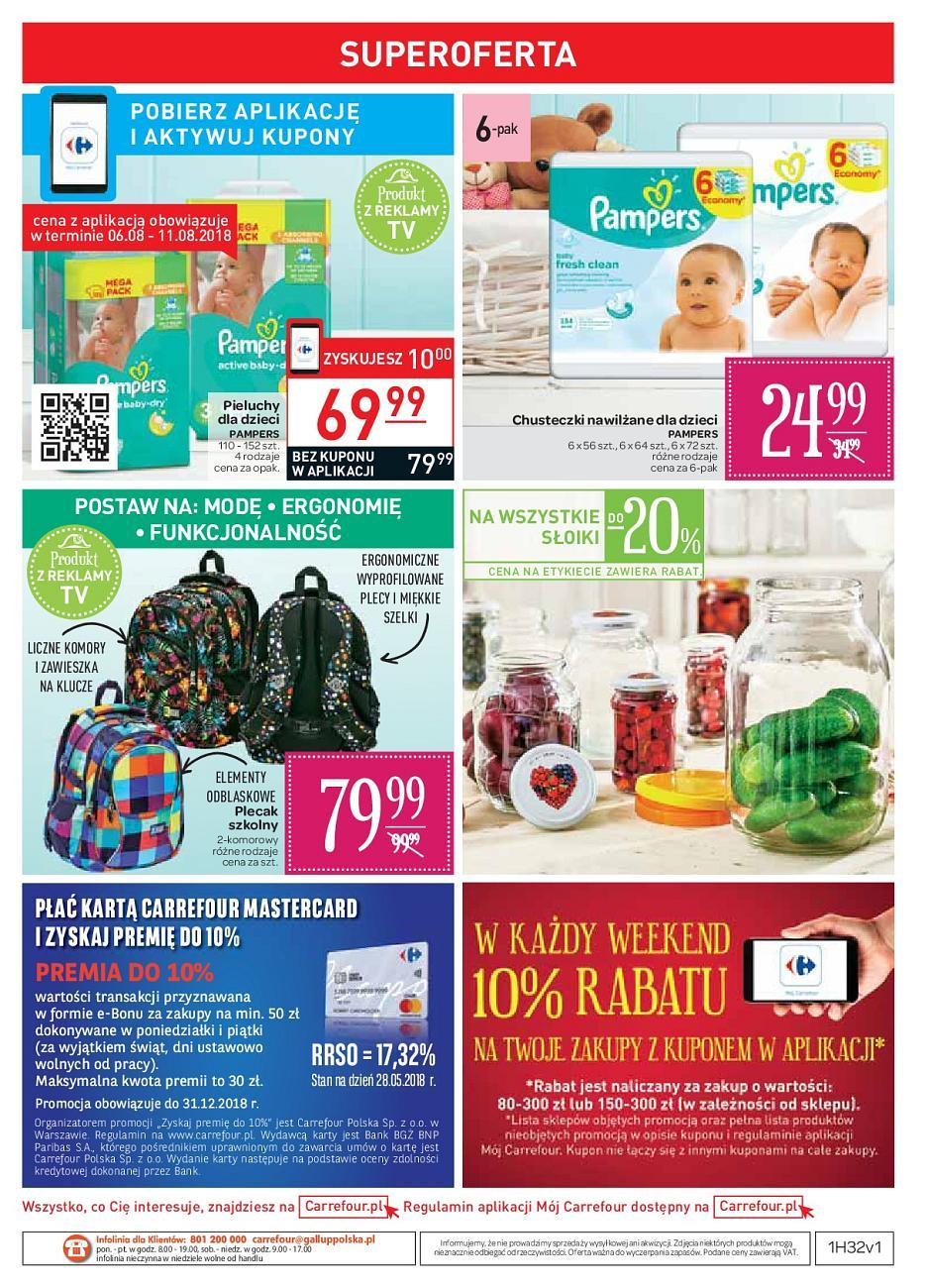 Gazetka promocyjna Carrefour do 18/08/2018 str.40