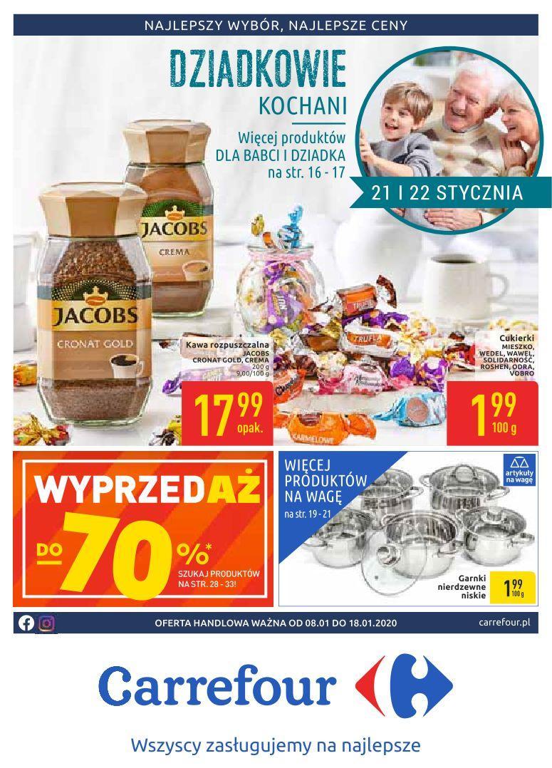 Gazetka promocyjna Carrefour do 18/01/2020 str.0