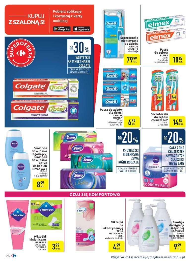 Gazetka promocyjna Carrefour do 07/10/2018 str.26
