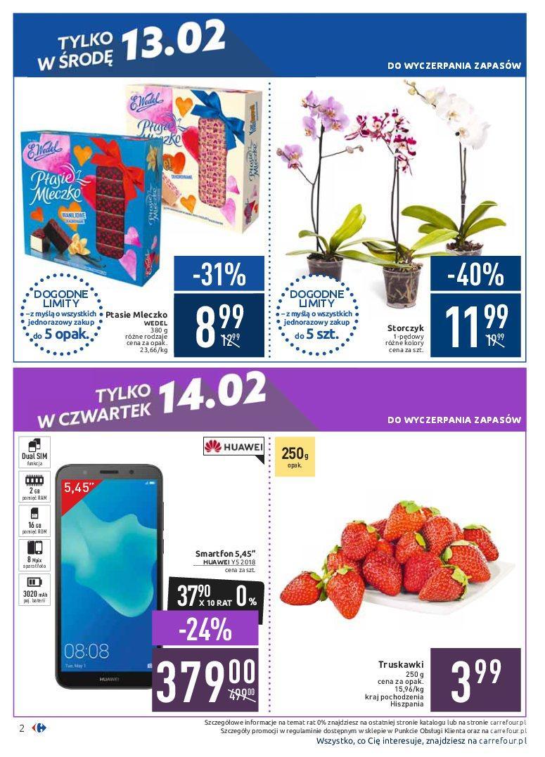 Gazetka promocyjna Carrefour do 18/02/2019 str.2