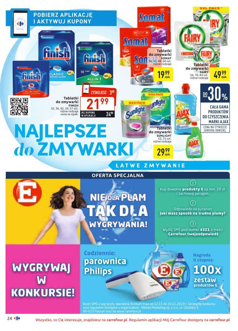 Gazetka promocyjna Carrefour do 24/11/2019 str.24