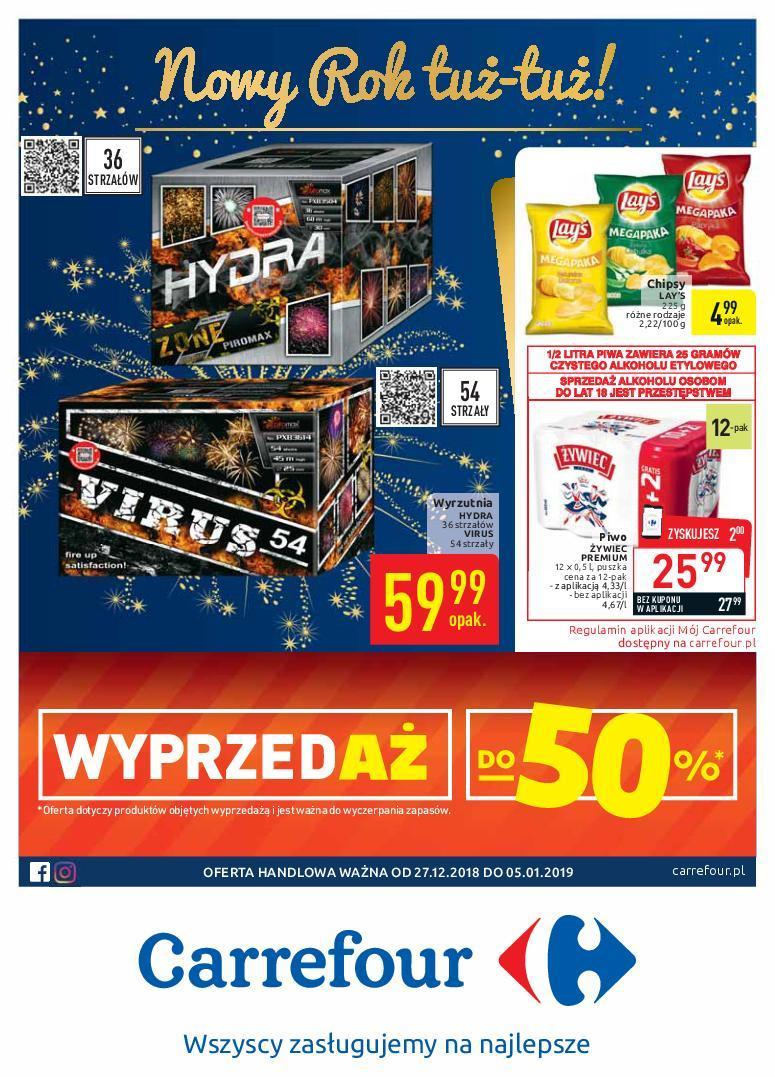 Gazetka promocyjna Carrefour do 05/01/2019 str.0