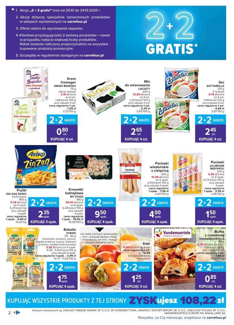 Gazetka promocyjna Carrefour do 24/10/2020 str.1