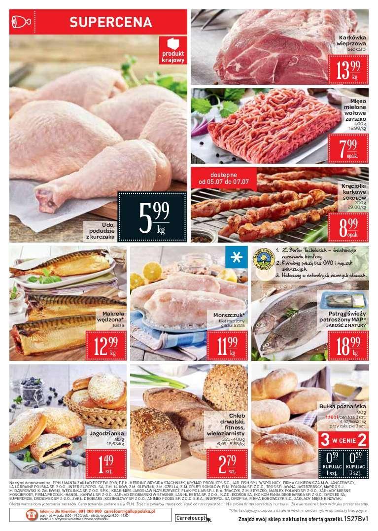 Gazetka promocyjna Carrefour Market do 09/07/2018 str.1