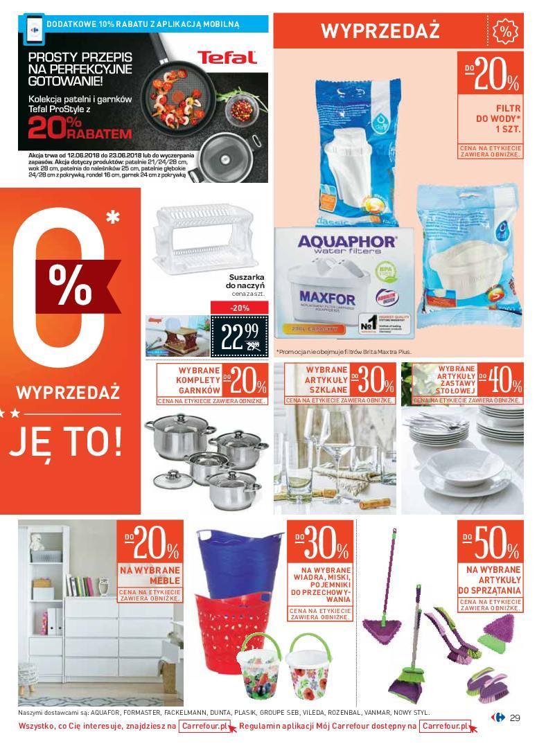 Gazetka promocyjna Carrefour do 24/06/2018 str.28