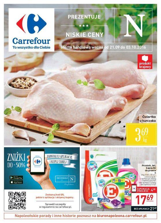 Gazetka promocyjna Carrefour do 03/10/2016 str.0