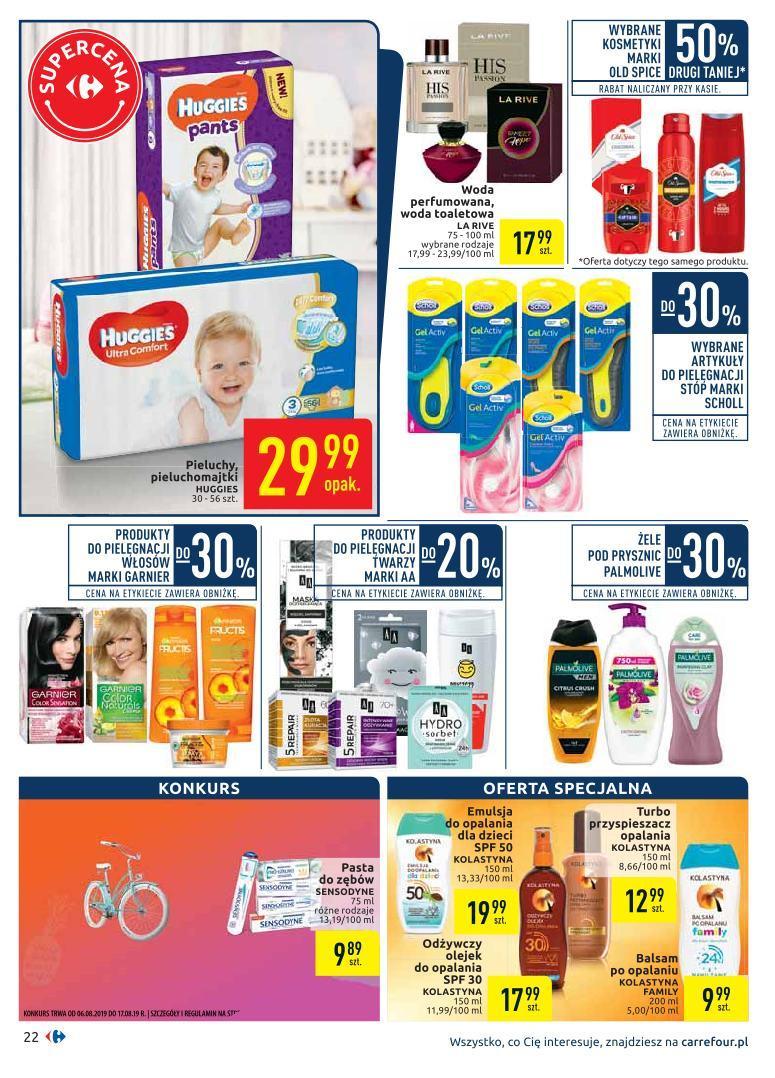 Gazetka promocyjna Carrefour do 19/08/2019 str.21