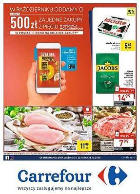 Carrefour gazetka  - od 23/10/2018 do 28/10/2018