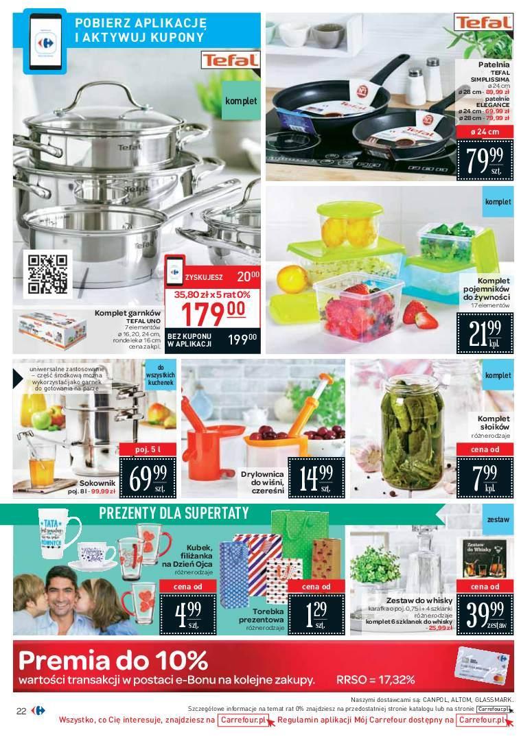 Gazetka promocyjna Carrefour do 24/06/2018 str.21