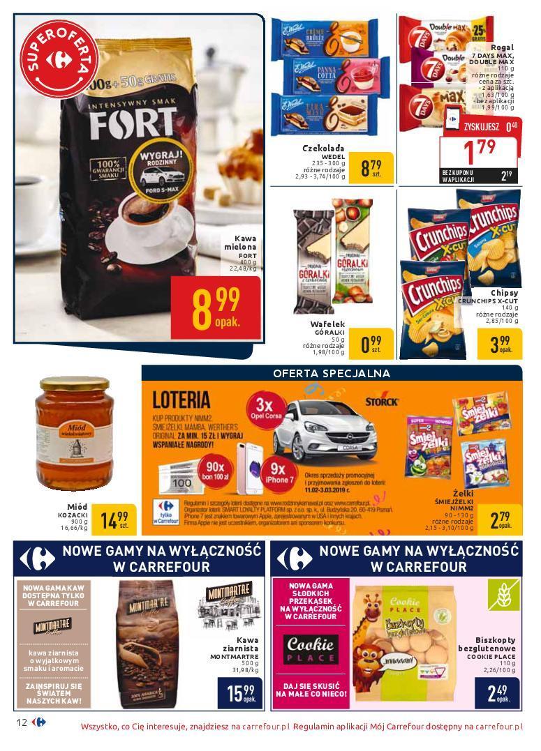 Gazetka promocyjna Carrefour do 18/02/2019 str.12