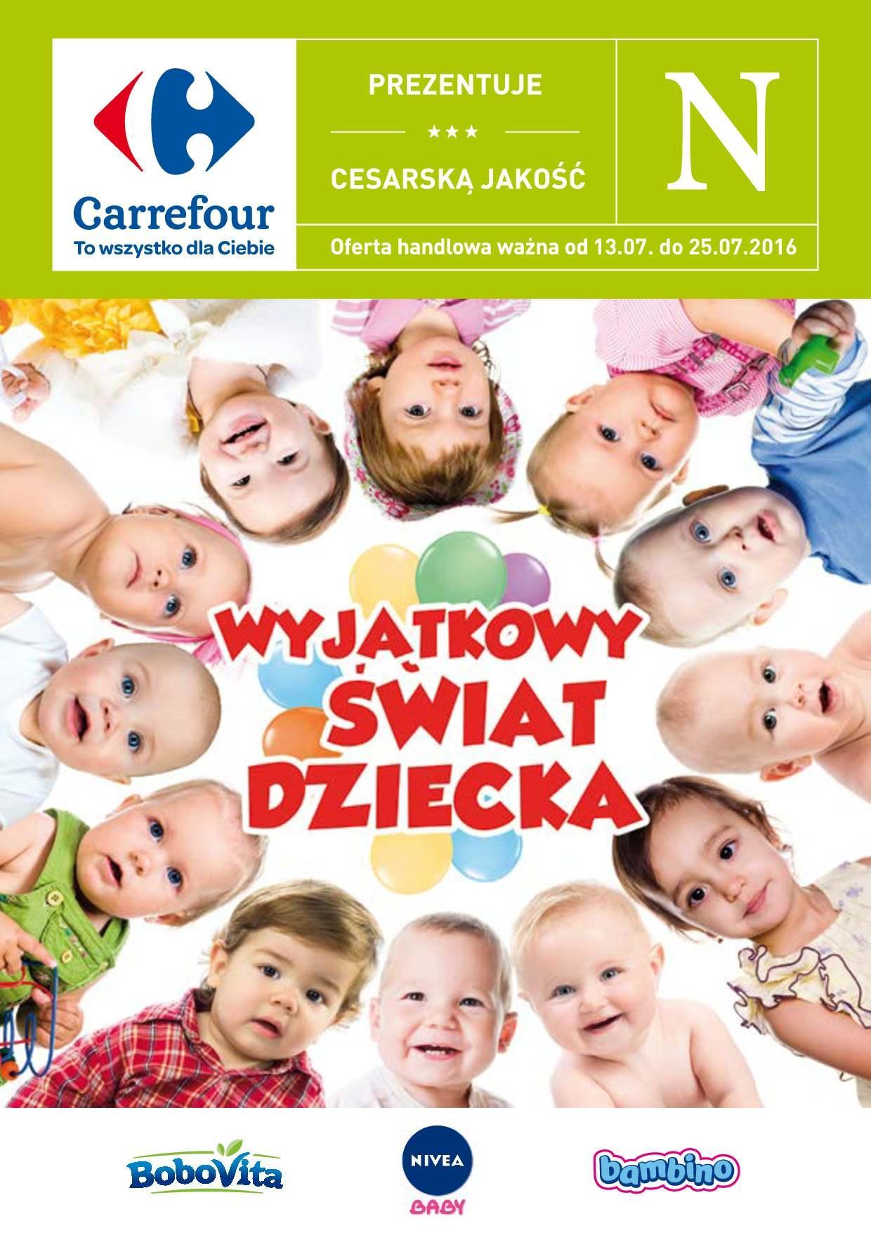 Gazetka promocyjna Carrefour do 25/07/2016 str.0