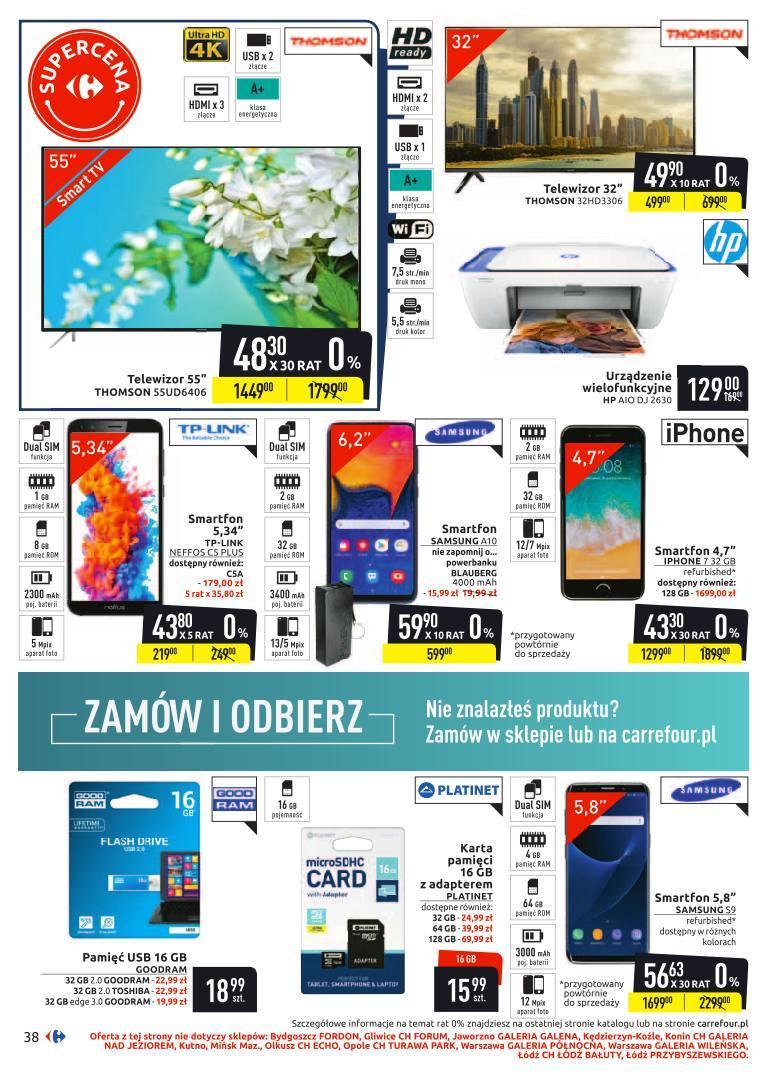 Gazetka promocyjna Carrefour do 24/11/2019 str.38