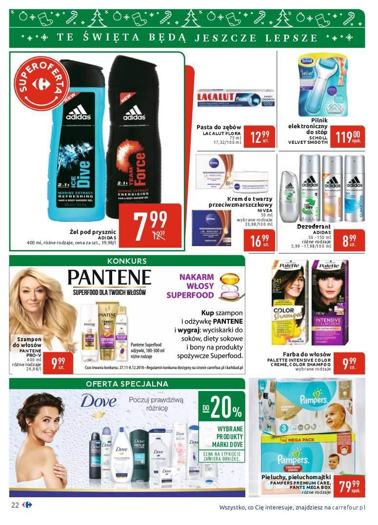 Gazetka promocyjna Carrefour do 08/12/2018 str.22