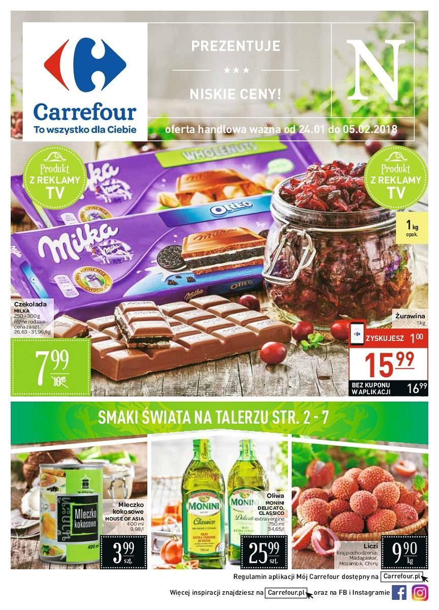 Gazetka promocyjna Carrefour do 05/02/2018 str.0