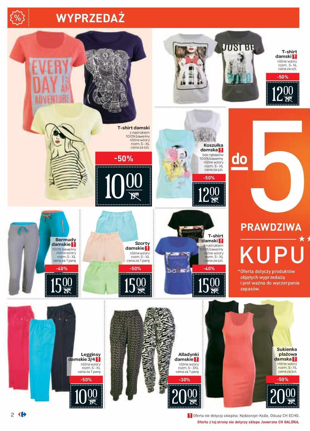 Gazetka promocyjna Carrefour do 27/06/2016 str.1