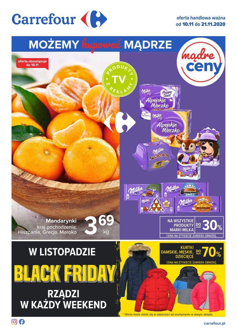 Gazetka promocyjna Carrefour do 21/11/2020 str.0