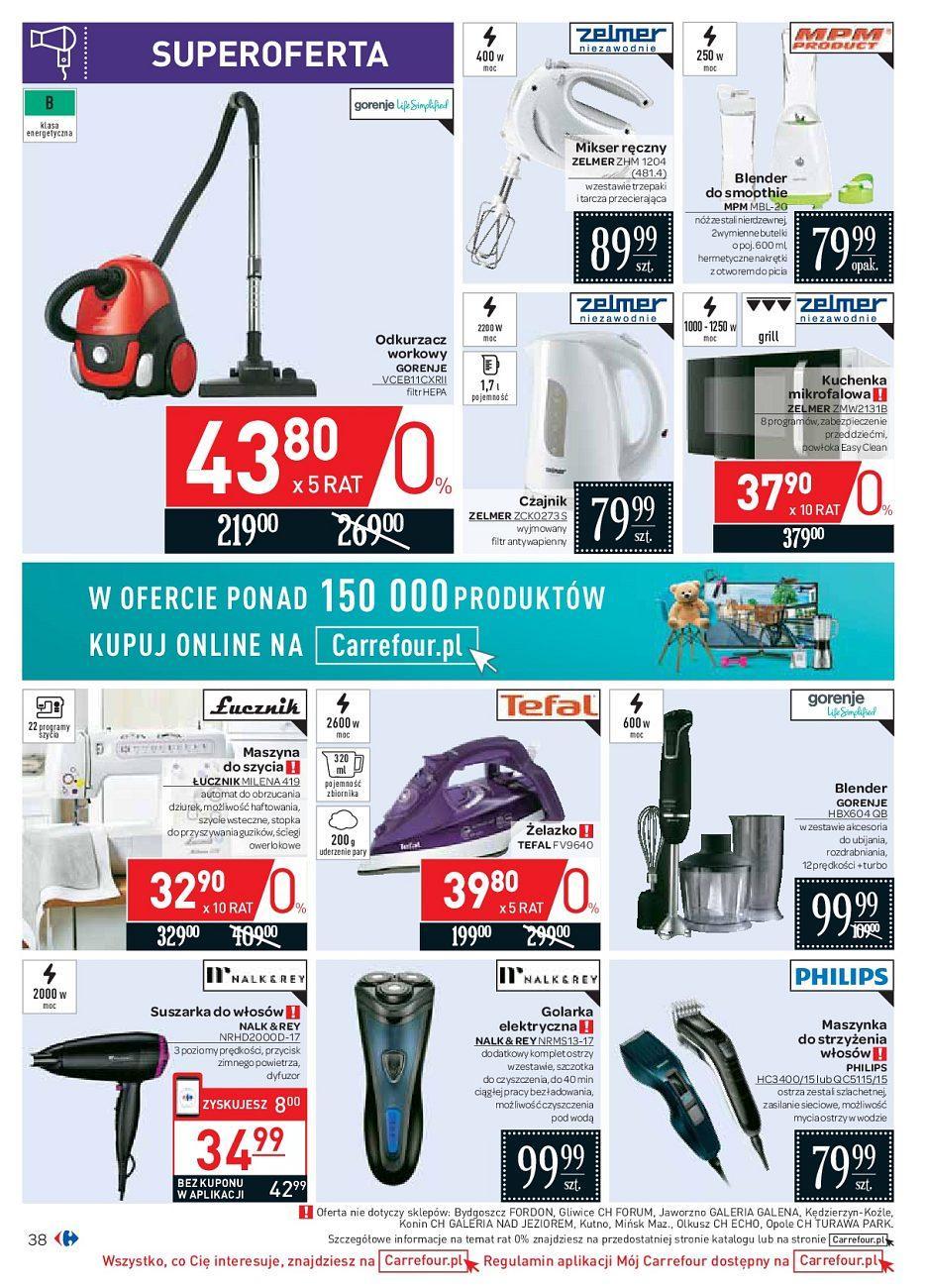 Gazetka promocyjna Carrefour do 18/08/2018 str.38