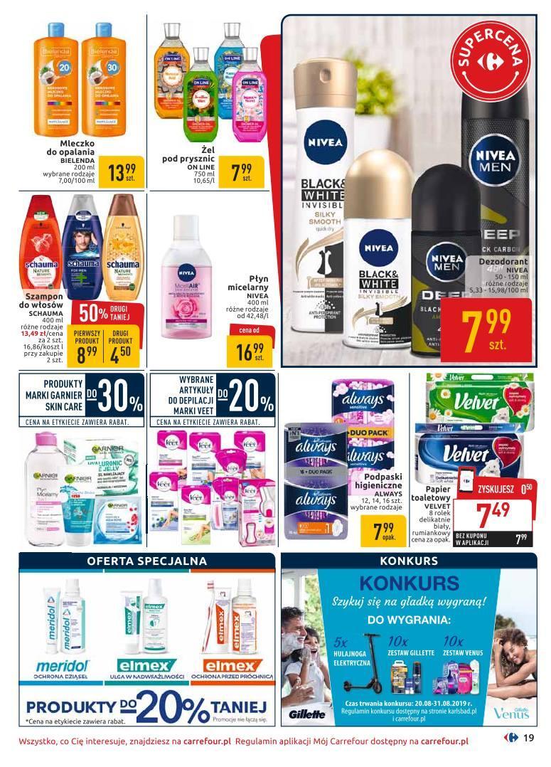 Gazetka promocyjna Carrefour do 07/09/2019 str.18