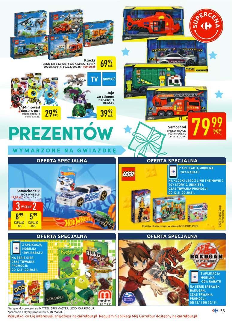 Gazetka promocyjna Carrefour do 24/11/2019 str.33