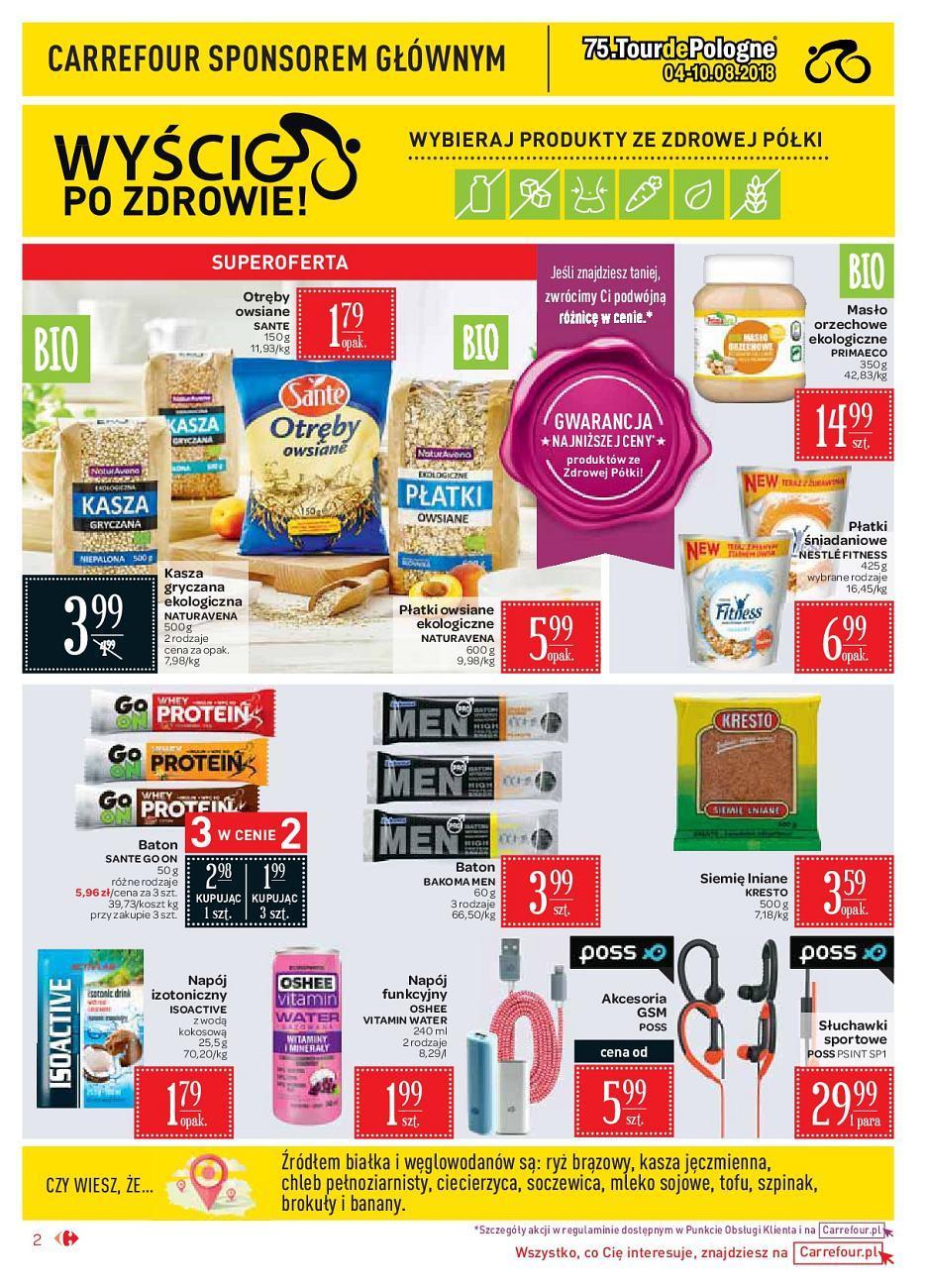 Gazetka promocyjna Carrefour Market do 18/08/2018 str.2