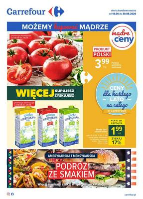 Carrefour gazetka - od 18/08/2020 do 30/08/2020