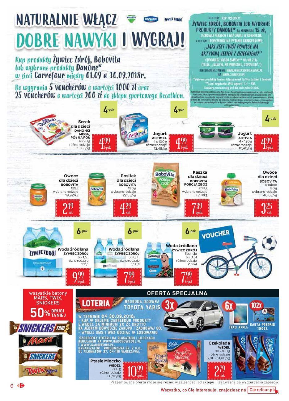 Gazetka promocyjna Carrefour Market do 15/09/2018 str.6