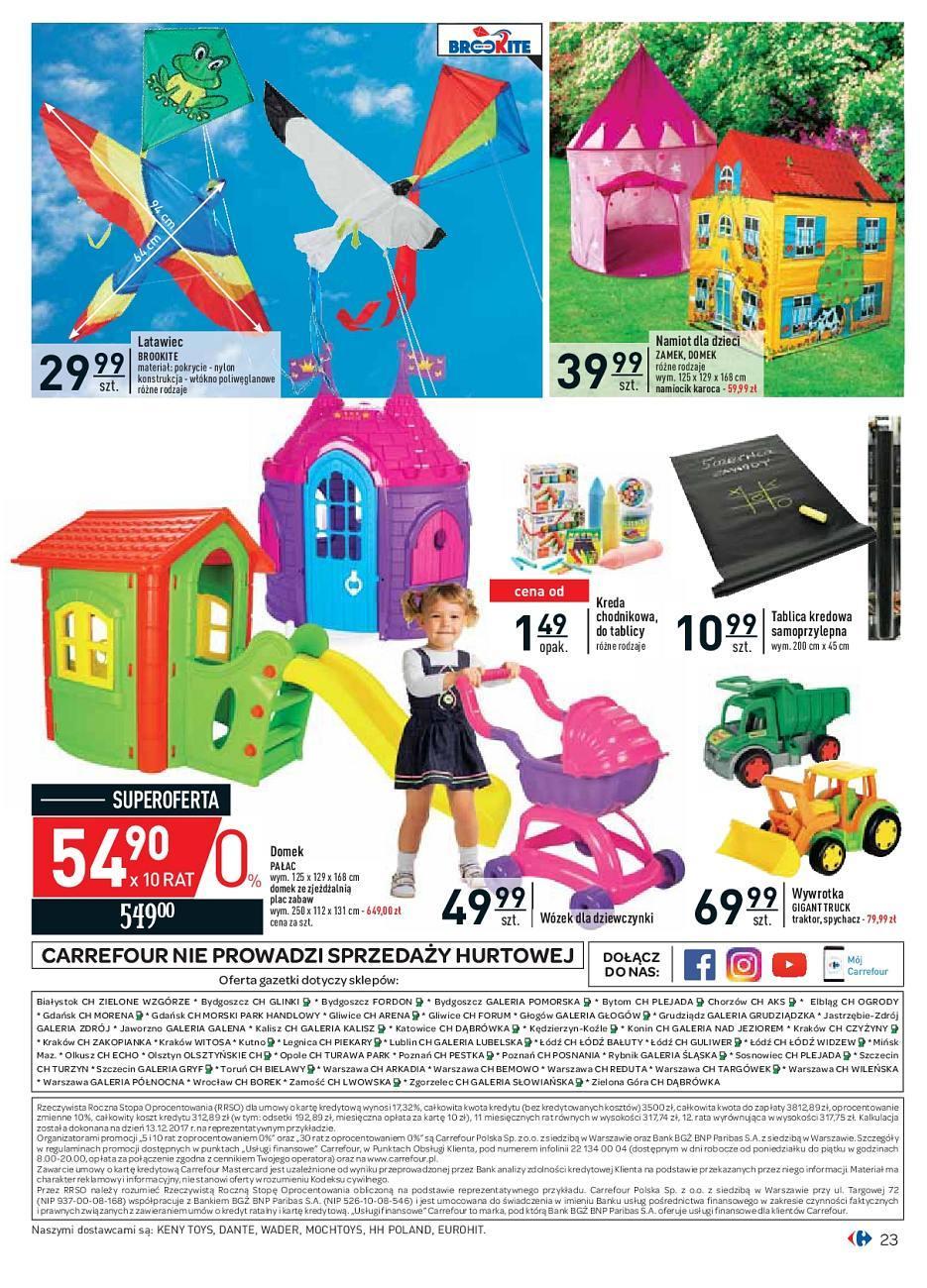Gazetka promocyjna Carrefour do 16/06/2018 str.23