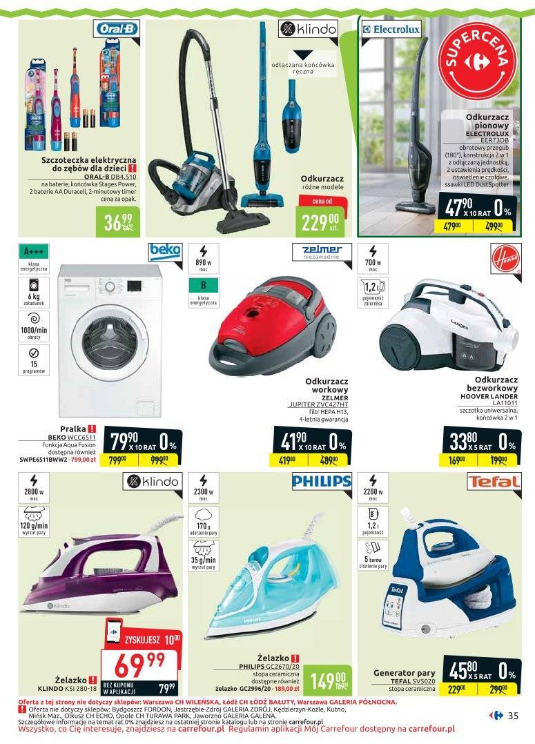 Gazetka promocyjna Carrefour do 20/04/2019 str.34