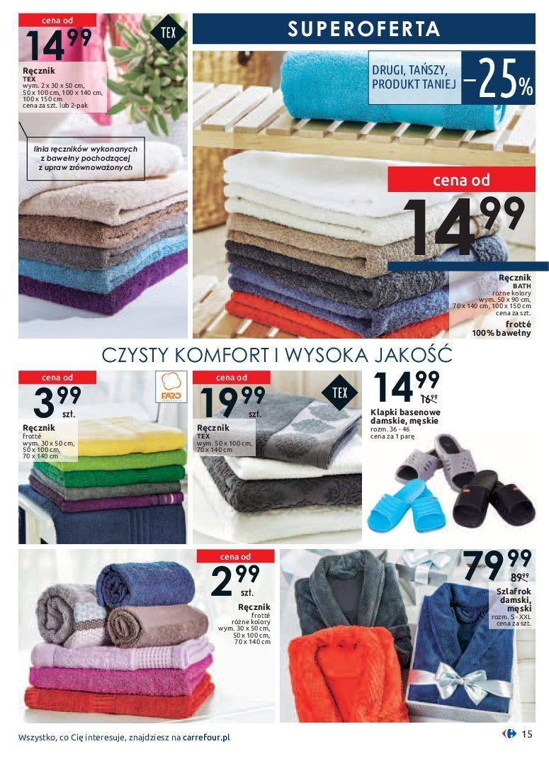 Gazetka promocyjna Carrefour do 19/01/2019 str.15