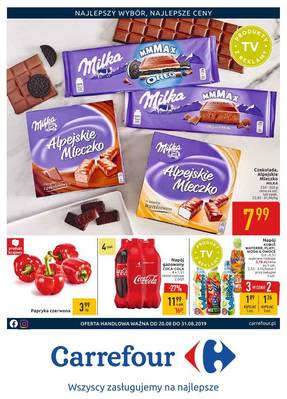 Carrefour gazetka - od 20/08/2019 do 07/09/2019