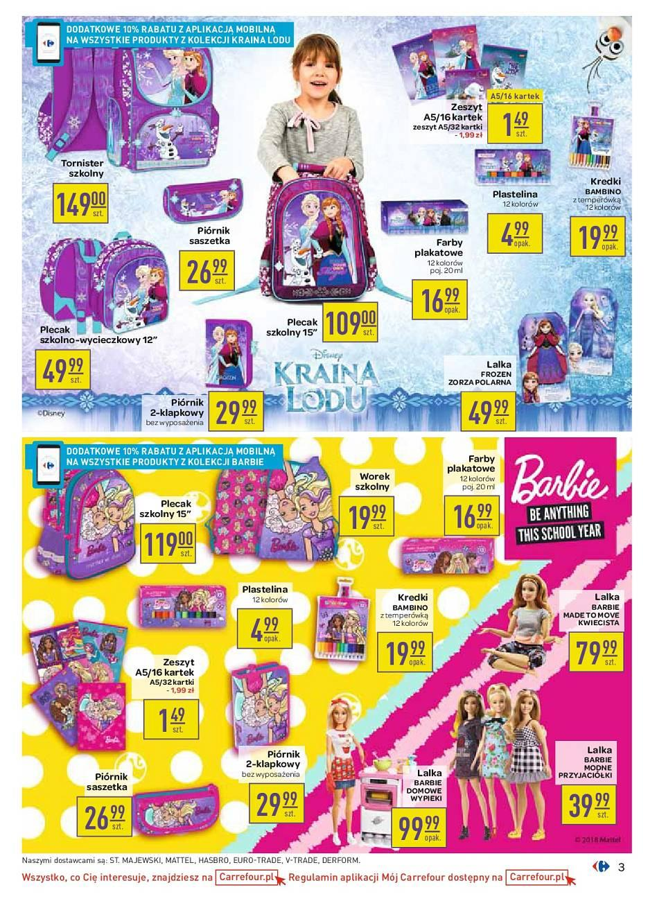 Gazetka promocyjna Carrefour do 11/08/2018 str.3