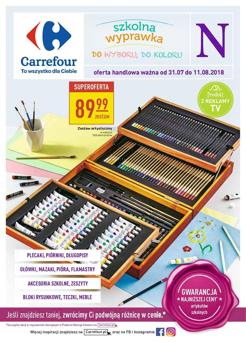 Gazetka promocyjna Carrefour do 11/08/2018 str.1