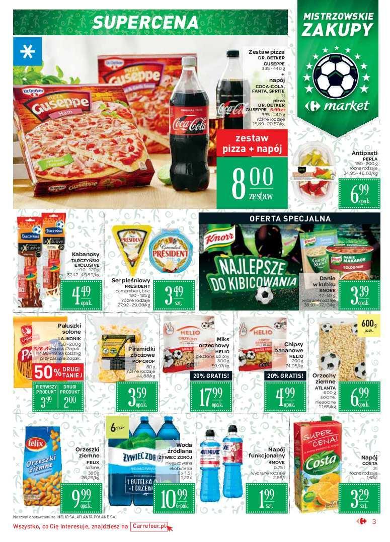 Gazetka promocyjna Carrefour Market do 24/06/2018 str.2