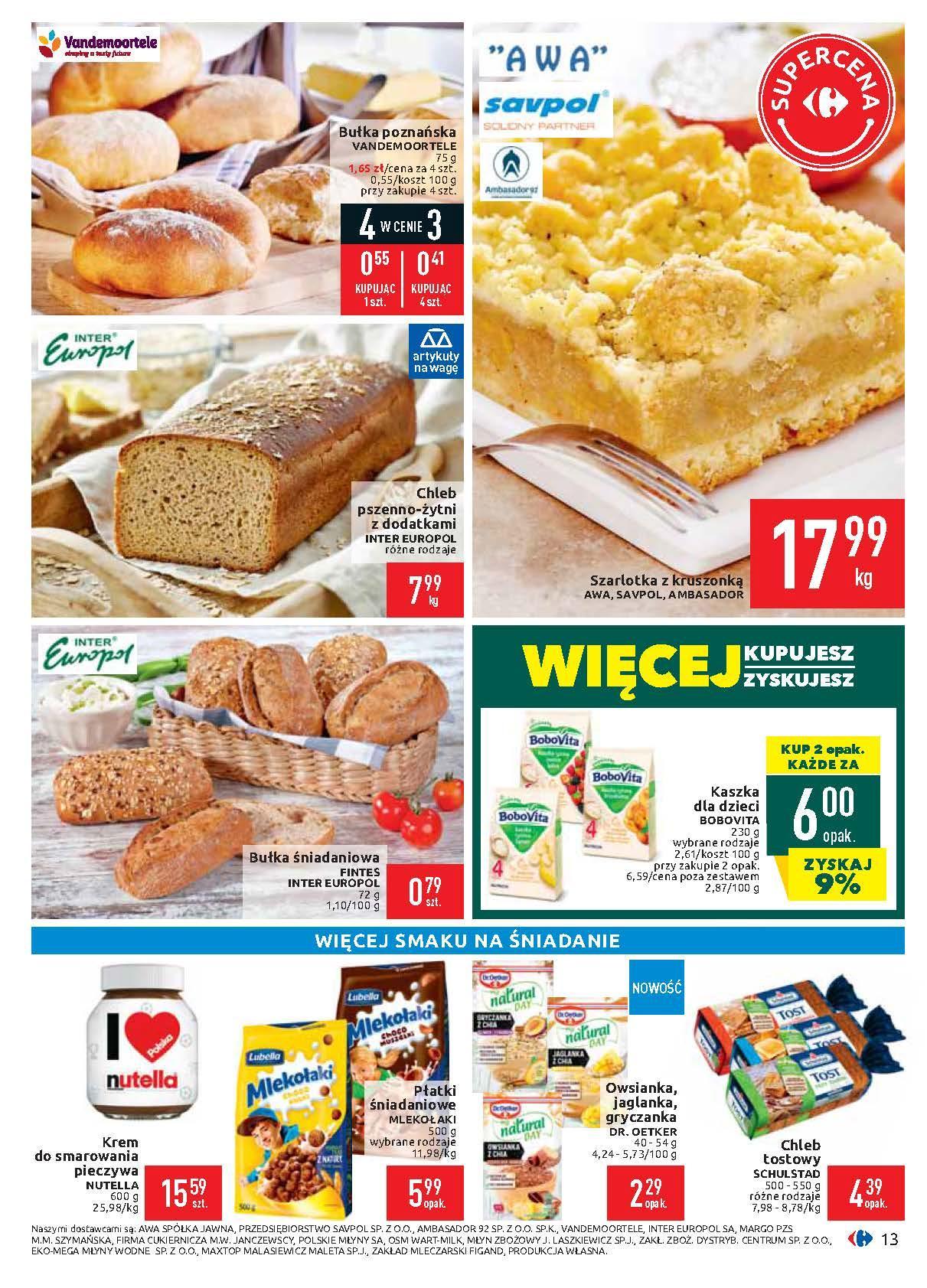 Gazetka promocyjna Carrefour do 17/02/2020 str.13