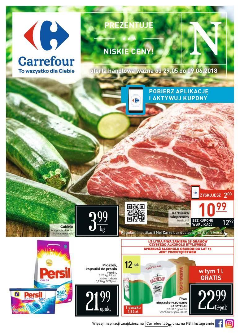 Gazetka promocyjna Carrefour do 09/06/2018 str.0