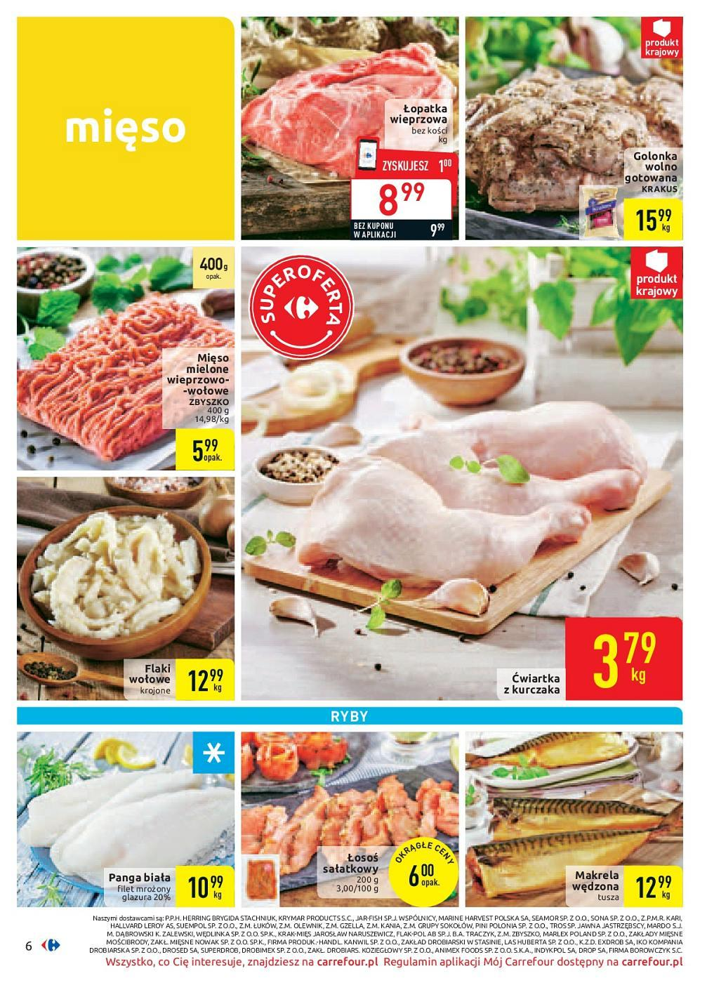 Gazetka promocyjna Carrefour do 30/09/2018 str.6