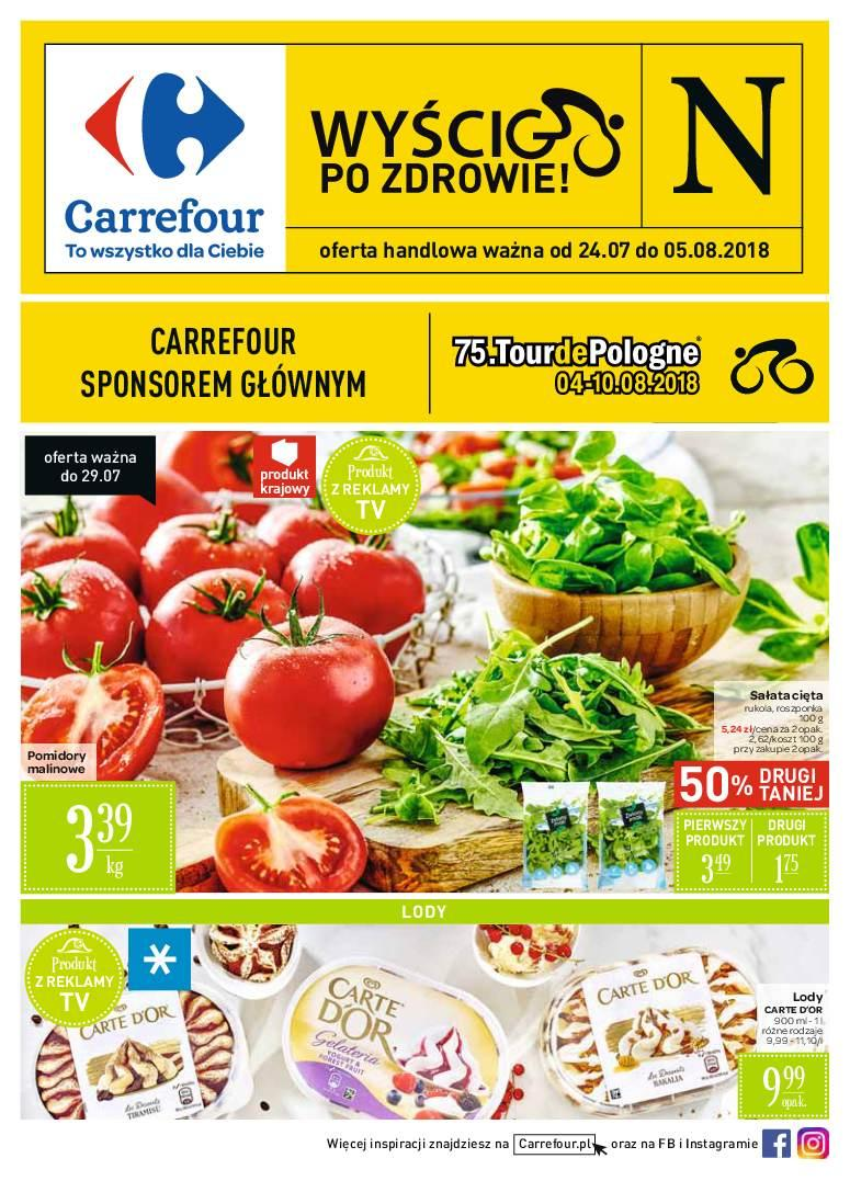 Gazetka promocyjna Carrefour do 05/08/2018 str.0