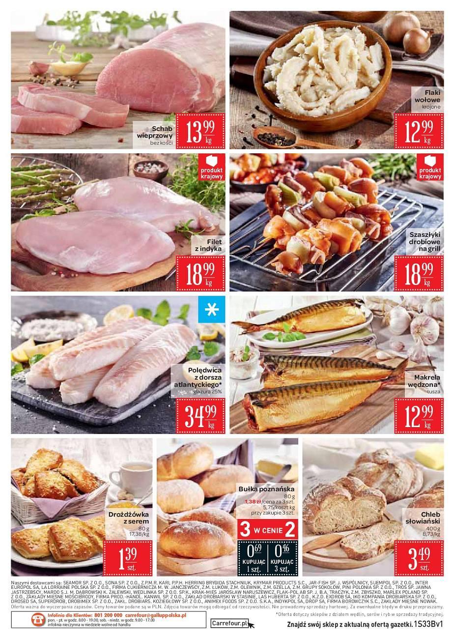 Gazetka promocyjna Carrefour Market do 20/08/2018 str.1