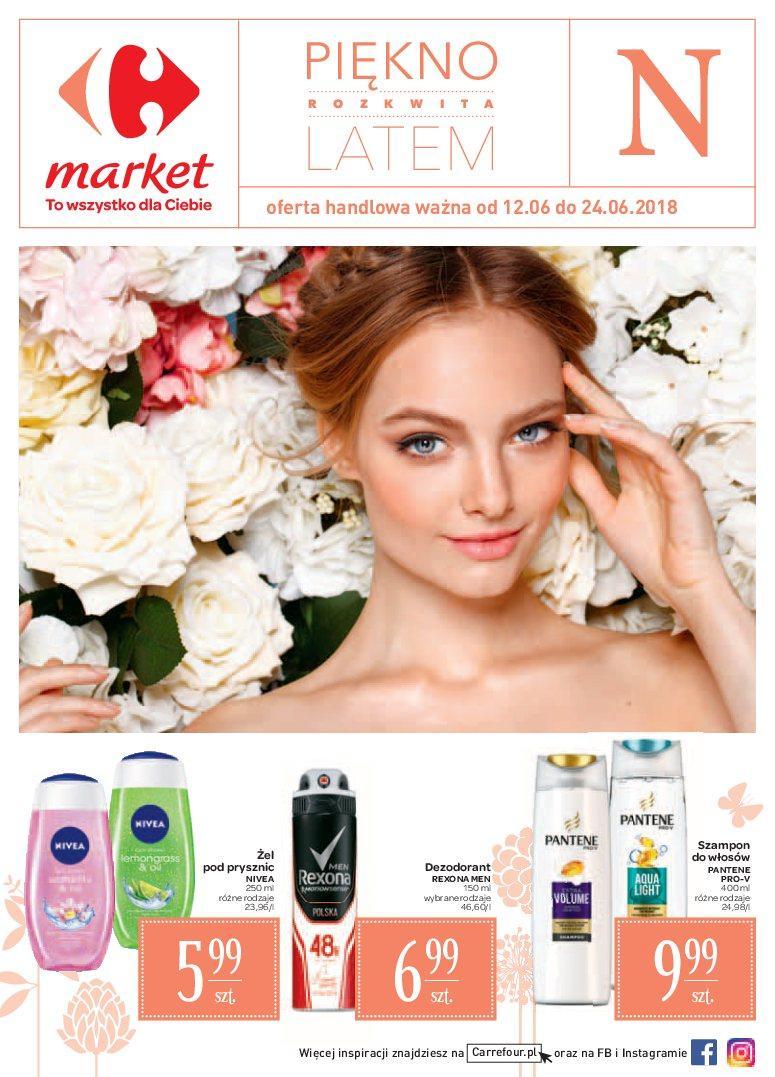 Gazetka promocyjna Carrefour Market do 24/06/2018 str.0